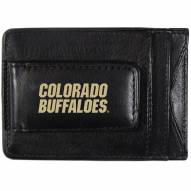 Colorado Buffaloes Logo Leather Cash and Cardholder