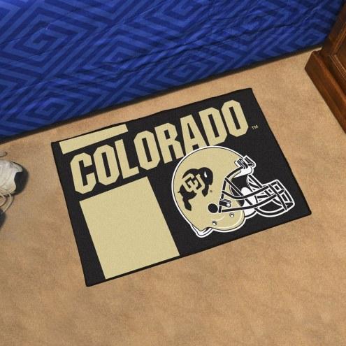 Colorado Buffaloes NCAA Starter Rug