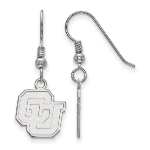 Colorado Buffaloes NCAA Sterling Silver Small Dangle Earrings