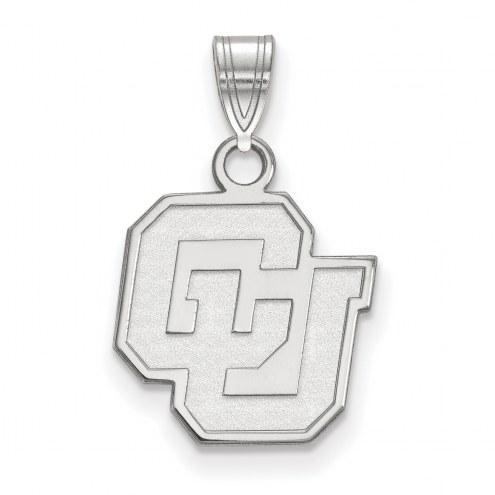 Colorado Buffaloes NCAA Sterling Silver Small Pendant