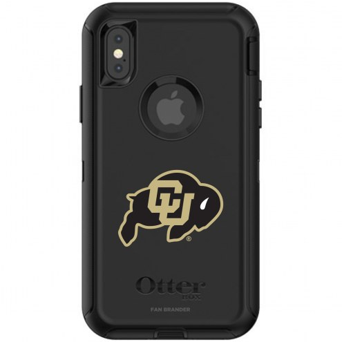 Colorado Buffaloes OtterBox iPhone X/Xs Defender Black Case