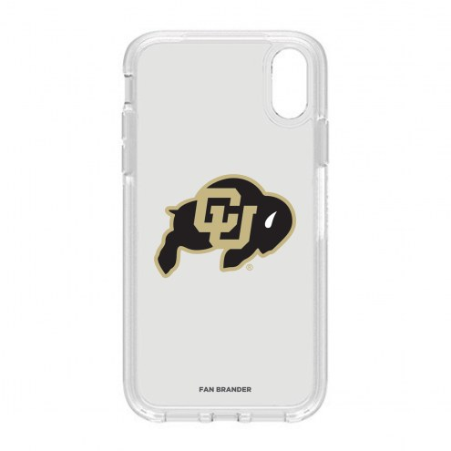 Colorado Buffaloes OtterBox iPhone XR Symmetry Clear Case