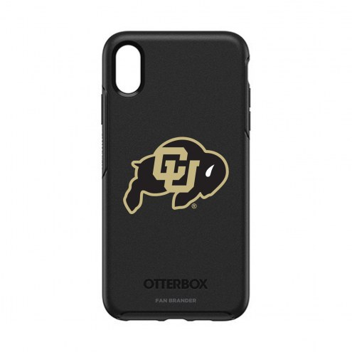 Colorado Buffaloes OtterBox iPhone XS Max Symmetry Black Case