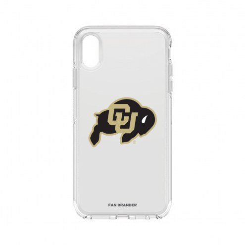 Colorado Buffaloes OtterBox iPhone XS Max Symmetry Clear Case