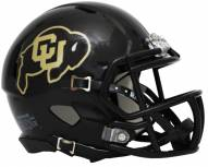 Colorado Buffaloes Riddell Speed Mini Collectible Black Football Helmet