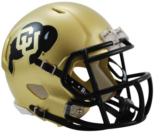 Colorado Buffaloes Riddell Speed Mini Collectible Football Helmet