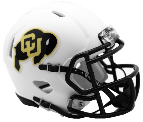 Colorado Buffaloes Riddell Speed Mini Collectible Matte Football Helmet