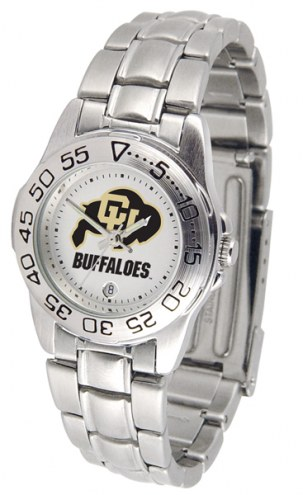 Colorado Buffaloes Sport Steel Women's Watch