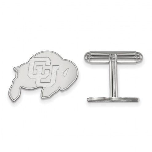 Colorado Buffaloes Sterling Silver Cuff Links