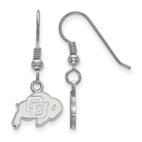 Colorado Buffaloes Sterling Silver Extra Small Dangle Earrings