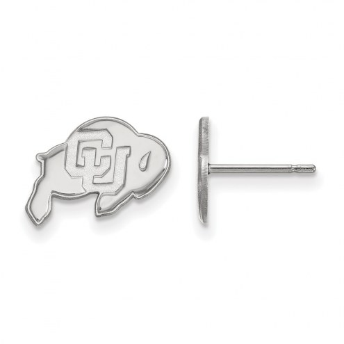 Colorado Buffaloes Sterling Silver Extra Small Post Earrings