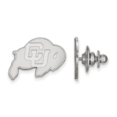 Colorado Buffaloes Sterling Silver Lapel Pin