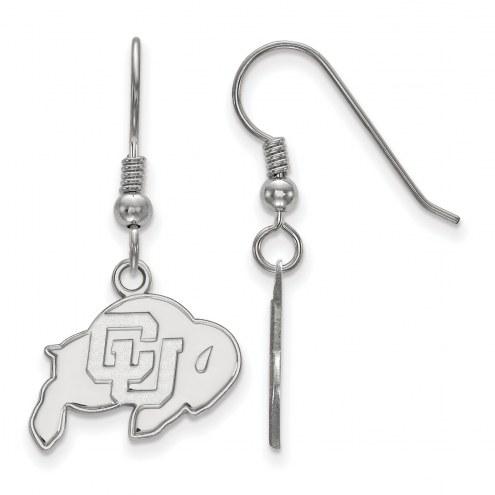 Colorado Buffaloes Sterling Silver Small Dangle Earrings