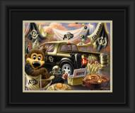 Colorado Buffaloes Tailgate Framed Print