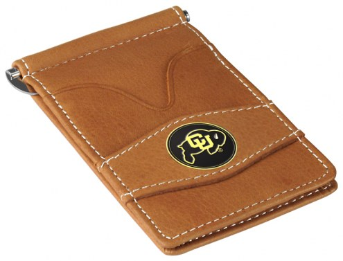 Colorado Buffaloes Tan Player's Wallet