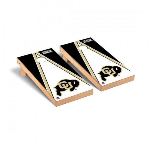 Colorado Buffaloes Triangle Cornhole Game Set