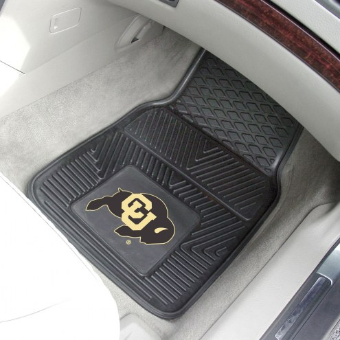 Colorado Buffaloes Vinyl 2-Piece Car Floor Mats