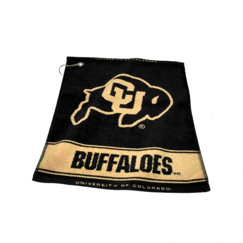 Colorado Buffaloes Woven Golf Towel