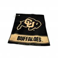 Colorado Buffaloes Woven Golf Towel