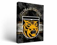 Colorado College Tigers Banner Canvas Wall Art