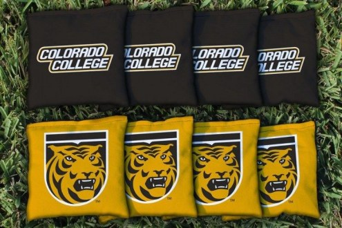 Colorado College Tigers Cornhole Bag Set