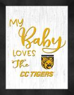 Colorado College Tigers My Baby Loves Framed Print
