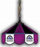 "Colorado Rockies 14"" Glass Pub Lamp"