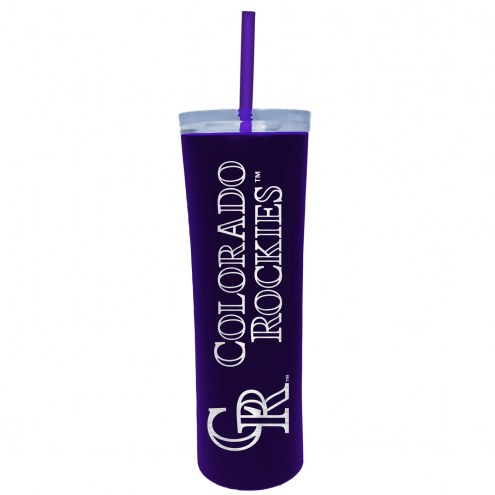 Colorado Rockies 18 oz. Skinny Tumbler