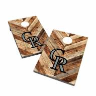Colorado Rockies 2' x 3' Cornhole Bag Toss