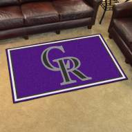 Colorado Rockies 4' x 6' Area Rug