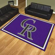 Colorado Rockies 8' x 10' Area Rug