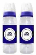 Colorado Rockies Baby Bottles - 2 Pack