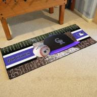 Colorado Rockies Baseball Runner Rug