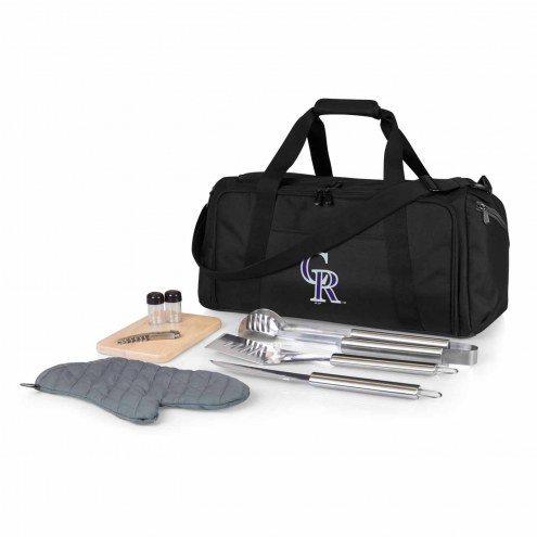 Colorado Rockies BBQ Kit Cooler
