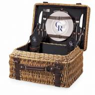 Colorado Rockies Black Champion Picnic Basket