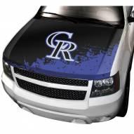 Colorado Rockies Car Hood Cover