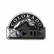 Colorado Rockies Chrome Car Emblem