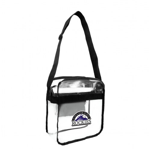 Colorado Rockies Clear Crossbody Carry-All Bag
