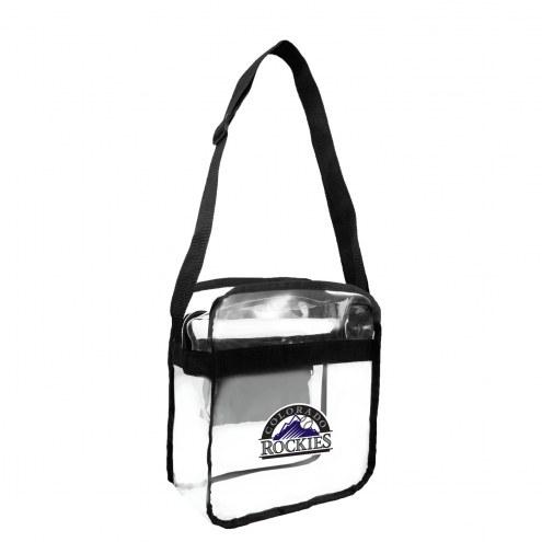 Colorado Rockies Clear Crossbody Carry-All Bag