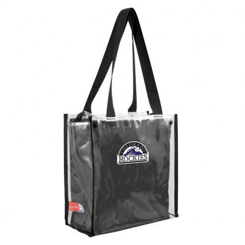 Colorado Rockies Convertible Clear Tote
