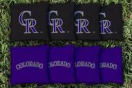 Colorado Rockies Cornhole Bag Set