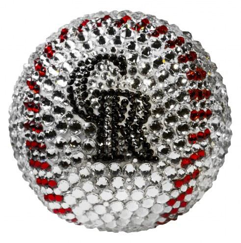 Colorado Rockies Swarovski Crystal Baseball