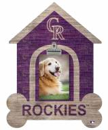 Colorado Rockies Dog Bone House Clip Frame