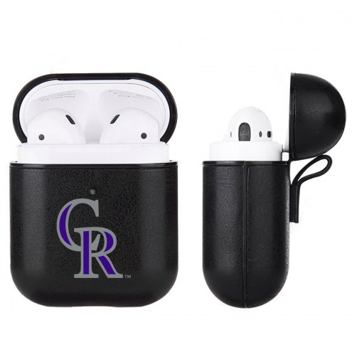 Colorado Rockies Apple Air Pod Leatherette