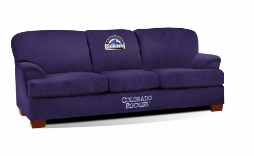 Colorado Rockies First Team Microfiber Sofa