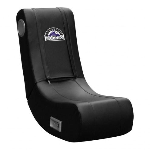 Colorado Rockies DreamSeat Game Rocker 100 Gaming Chair