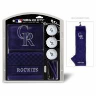 Colorado Rockies Golf Gift Set