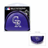 Colorado Rockies Golf Mallet Putter Cover