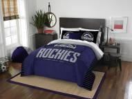 Colorado Rockies Grand Slam Full/Queen Comforter Set
