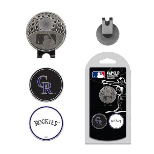 Colorado Rockies Hat Clip & Marker Set